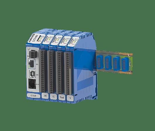 Sistema completo di acquisizione dati e controllo completamente modulare e a temperatura estesa