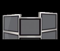 serie di panel pc industriali in acciaio inox fino ip69k