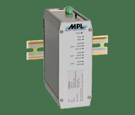computer embedded compatto di MPL montato a barra DIN