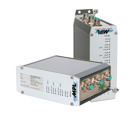 gigabit firewall industriale e router VPN certificate EN 50155