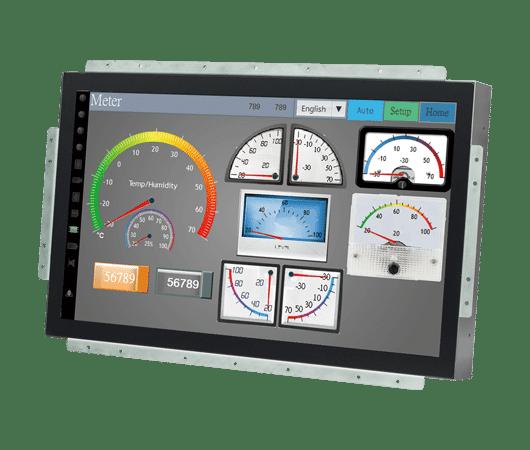 monitori open frame per montaggio in applicazioni oem