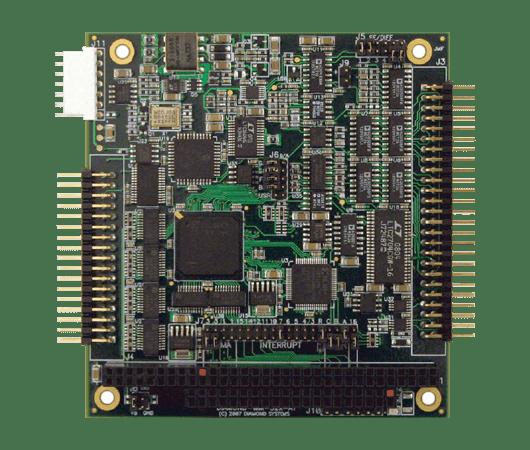 scheda con 32 ingressi analogici e 4 uscite digitali con sistema di auto calibrazione