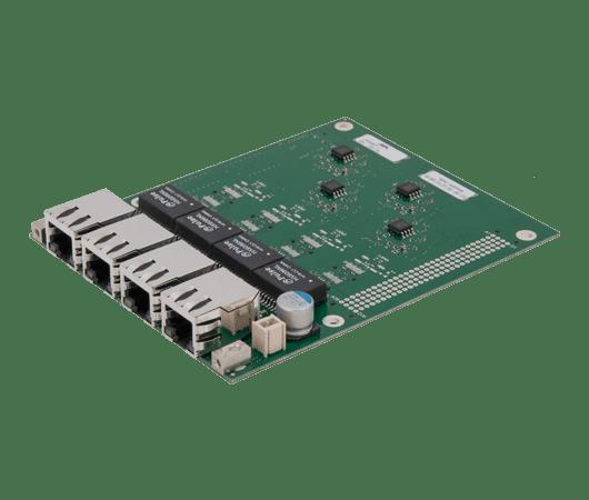 scheda di espansione gigabit ethernet basata su standard pc104