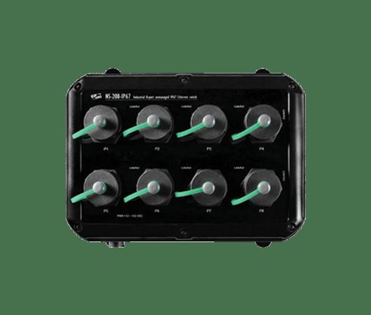 switch ethernet unmanaged da 8 porte con protezione IP67