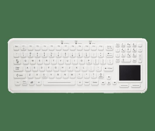 tastiera per uso medicale sigillata e igienizzabile