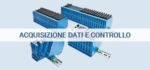 Acquisizione dati controllo