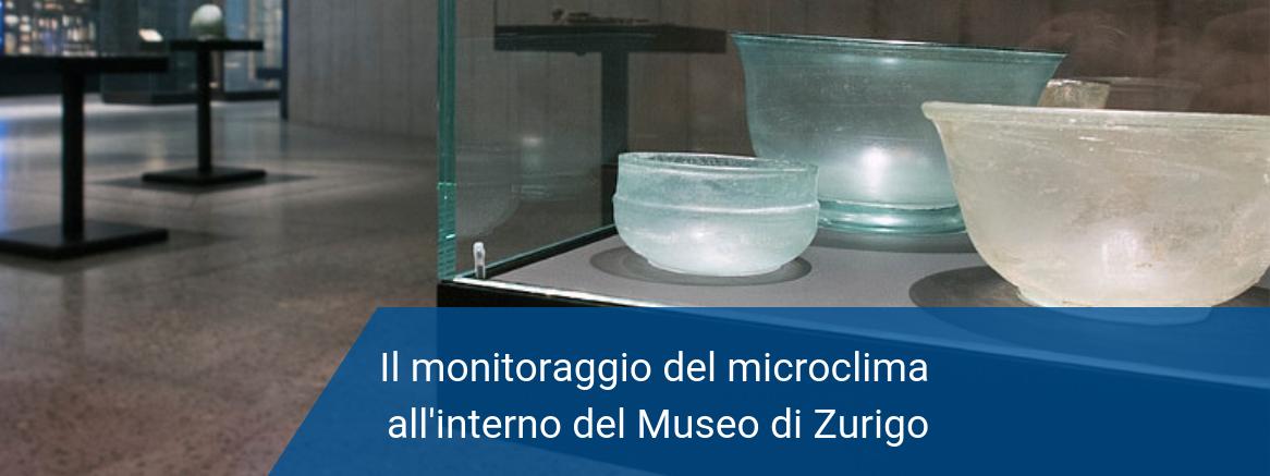 Monitoraggio microclima museo zurigo