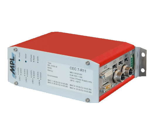 EN 50155 railway computer