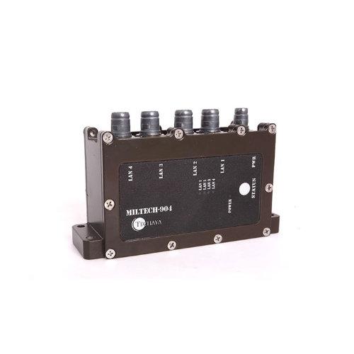 MILTECH 904 switch ethernet gigabit