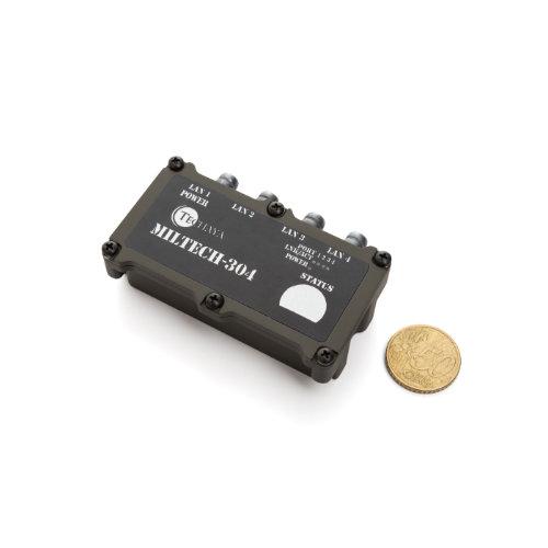 MILTECH304 switch fast ethernet miniaturizzato
