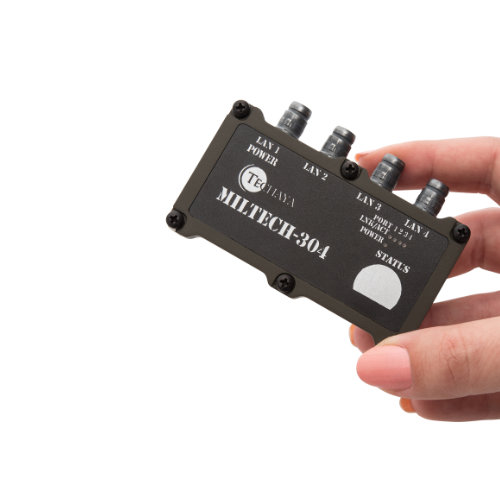 MILTECH304 switch fast ethernet miniaturizzato