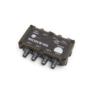 miltech 308 switch fast ethernet da 8 porte