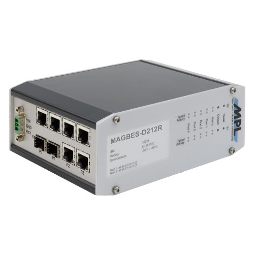 MAGBES MPL switch managed a 8 porte
