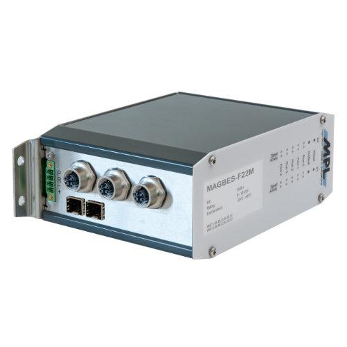 MAGBES MPL switch managed fino a 8 porte con connettori M12