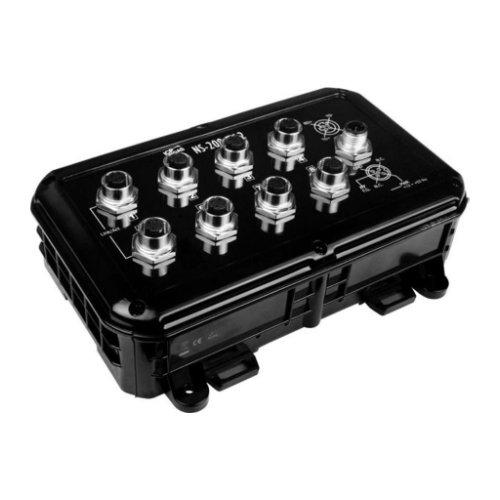 Switch unmanaged 8 porte EN50155 NS-208-M12