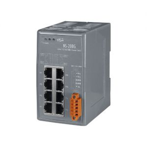 NS-208G Switch unmanaged 8 porte GbE