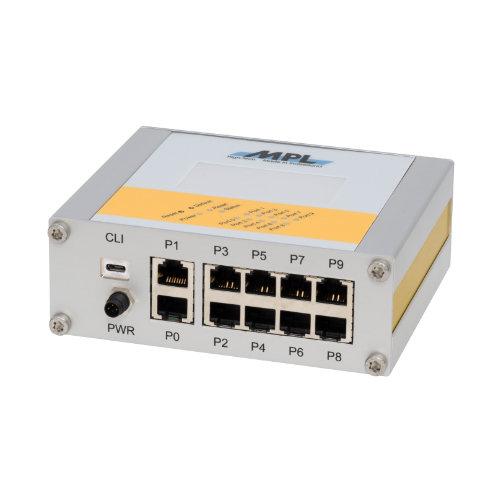 uMAGBES-EN switch managed 10 porte