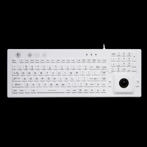 Tastiera industriale IP68 con trackball